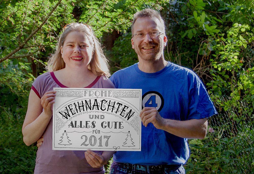 Foto: Weihachtskarten-Lettering