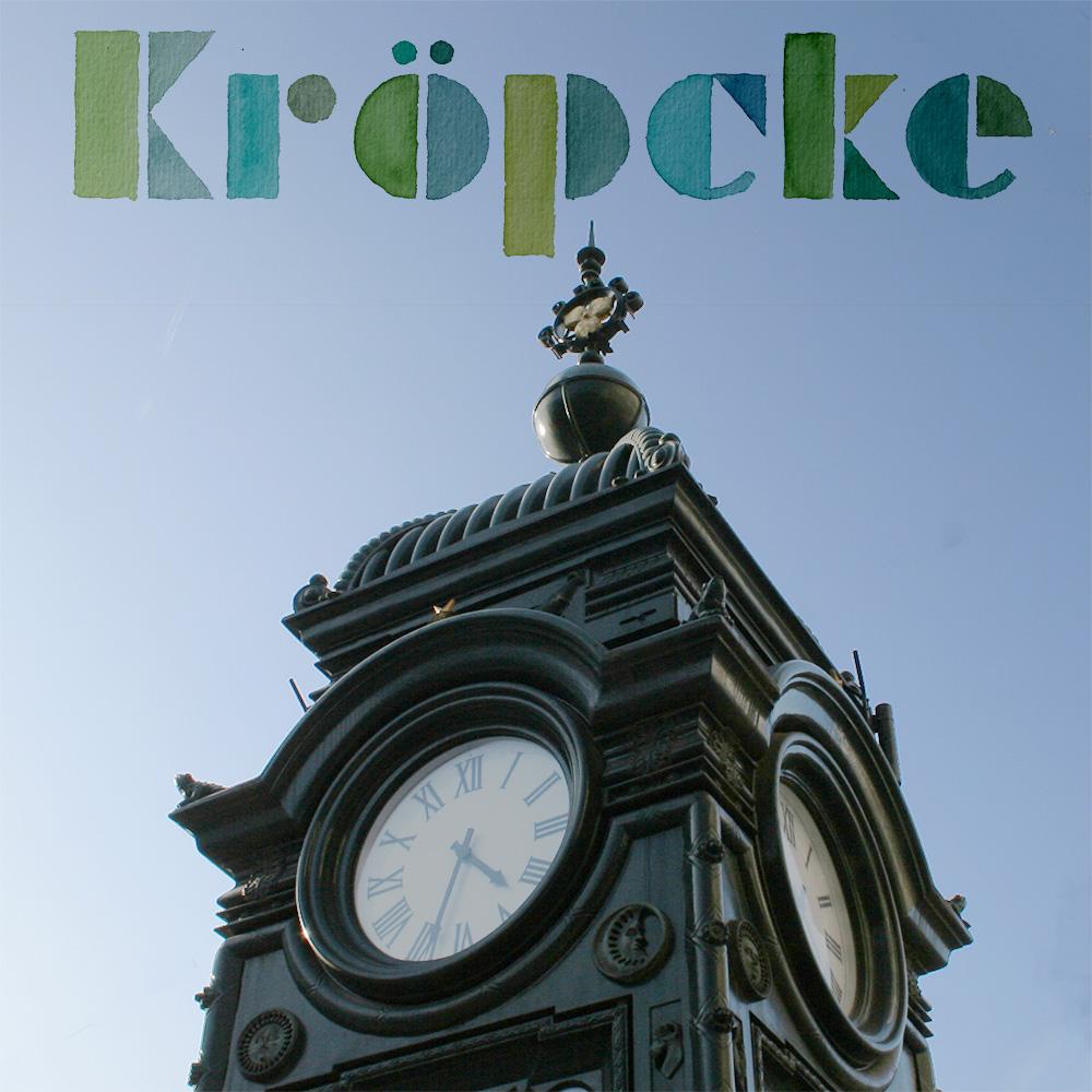 """Lettering und Foto """"Kröpcke"""""""