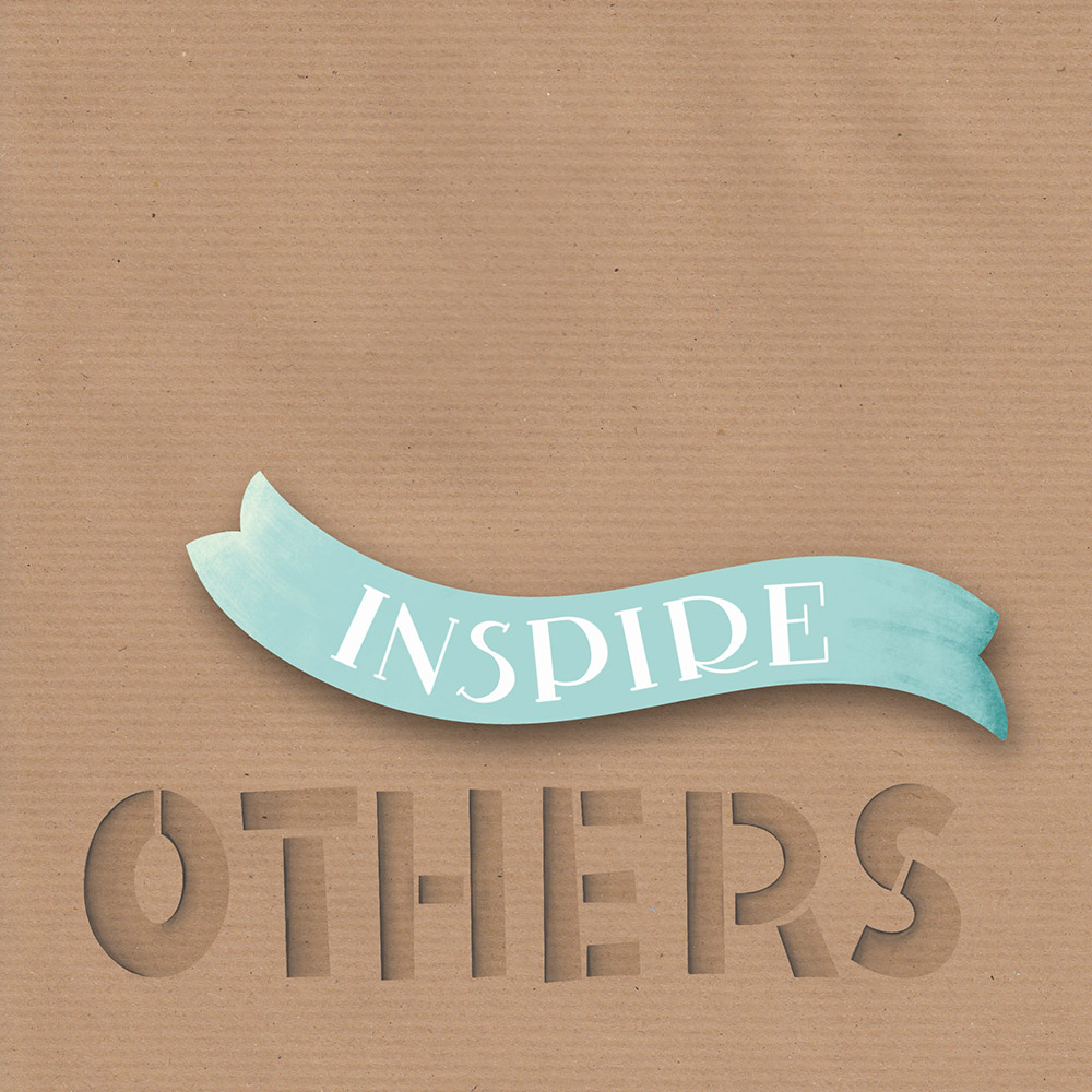 """Lettering """"creative mind inspire others"""" - Teil 2"""