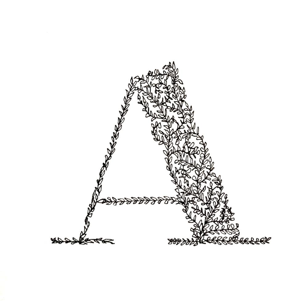 Alphabet #1 - Buchstabe A