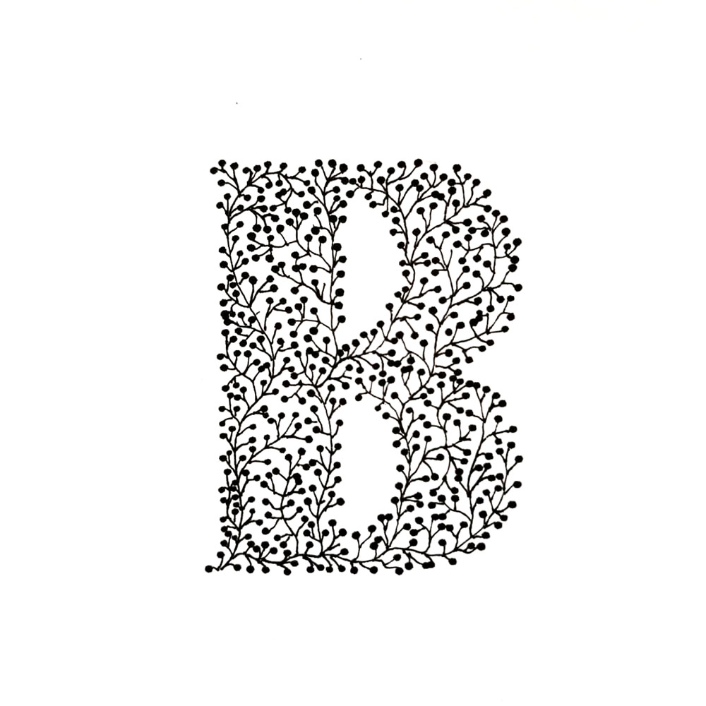 Alphabet #1 - Buchstabe B