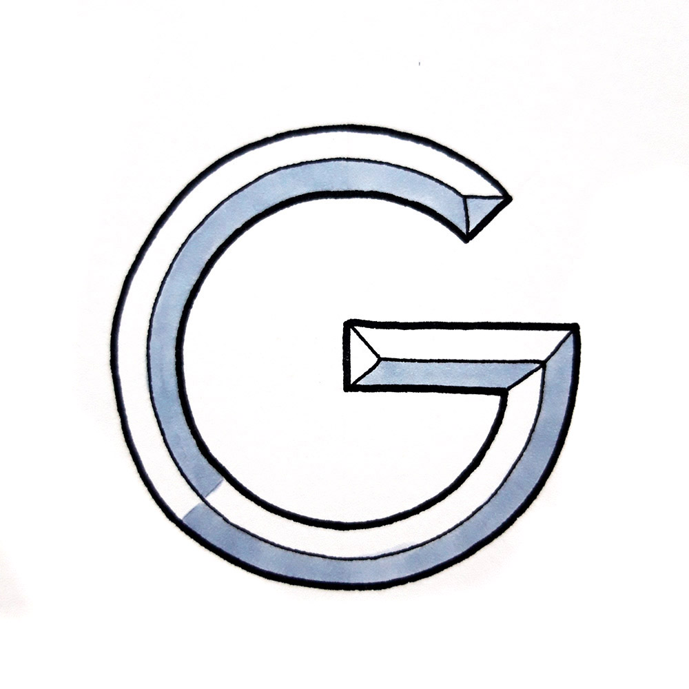 Alphabet #1 - Buchstabe G
