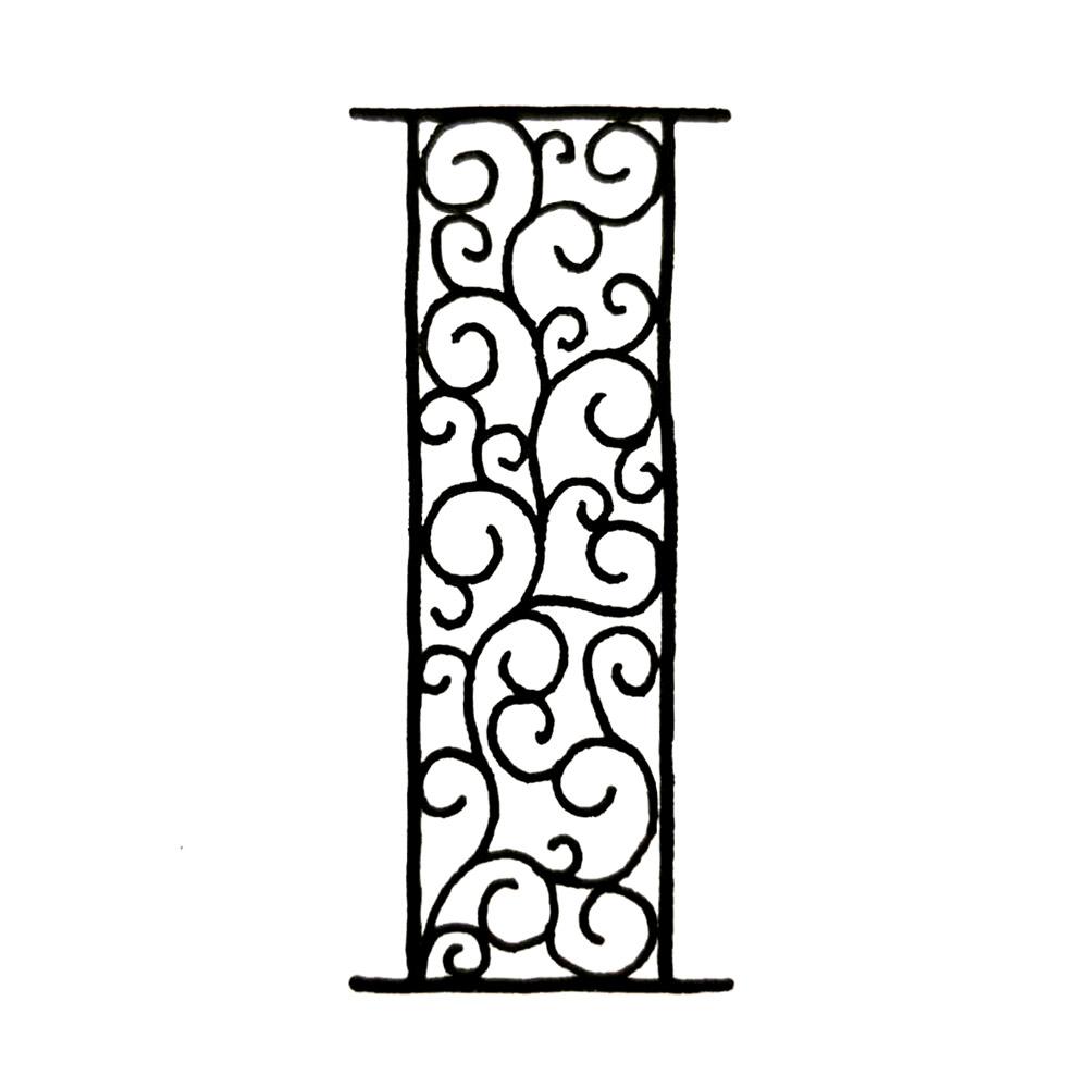 Alphabet #1 - Buchstabe I