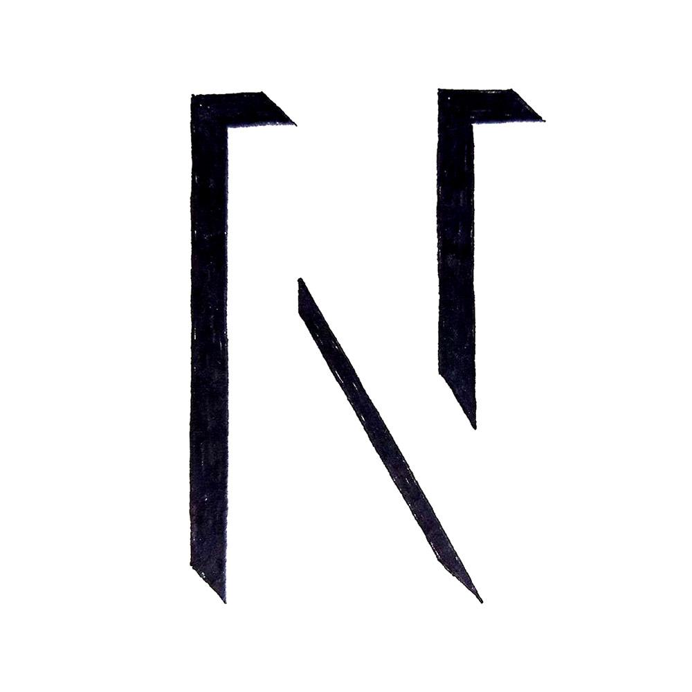 Alphabet #1 - Buchstabe N