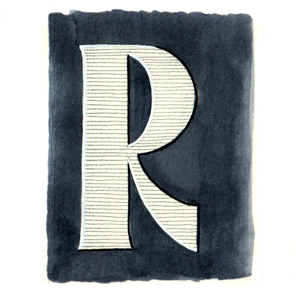 Alphabet #1 - Buchstabe R