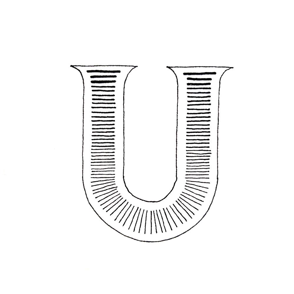 Alphabet #1 - Buchstabe U