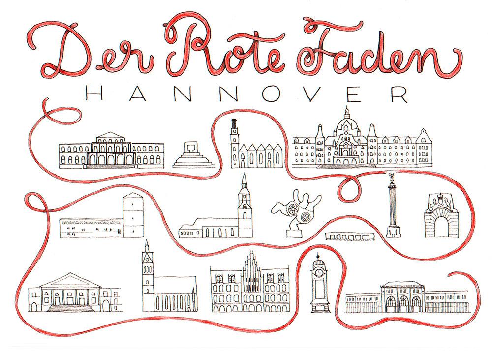 Der Rote Faden Hannover Sketchonote