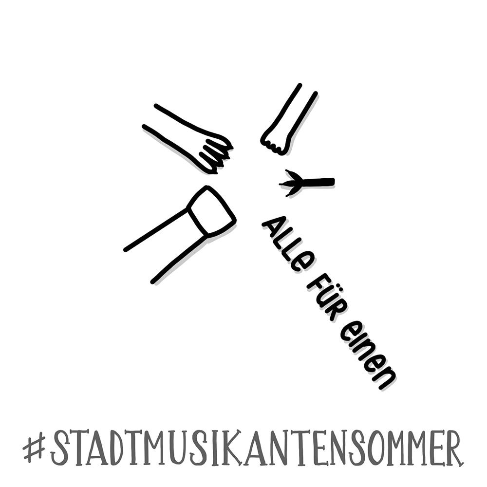 Stadtmusikantensommer 2019 - Alle für einen