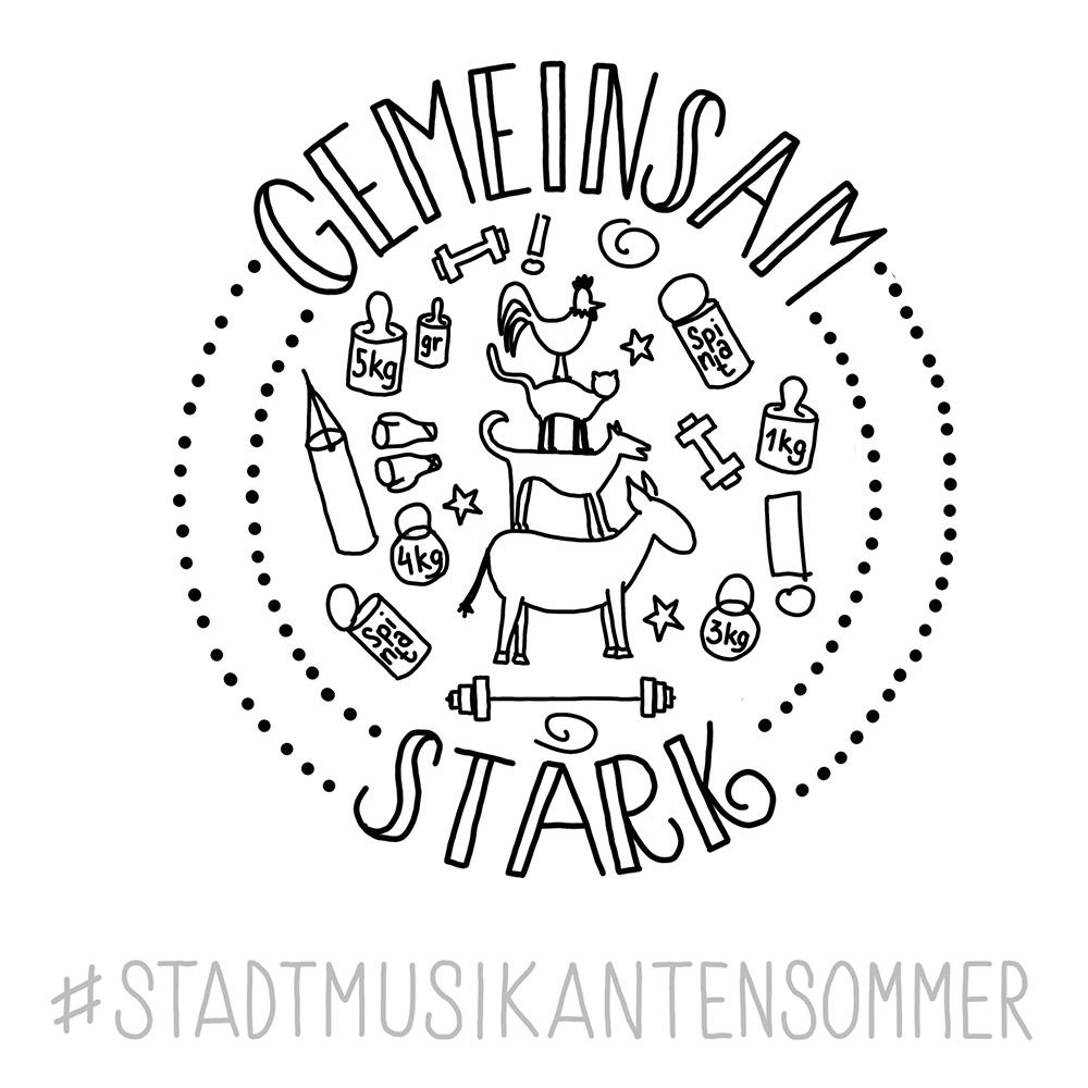 Stadtmusikantensommer 2019 -gemeinsam stark