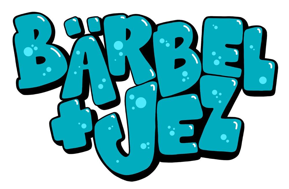 Namen Bärbel und Jez im Grafitti-Stil